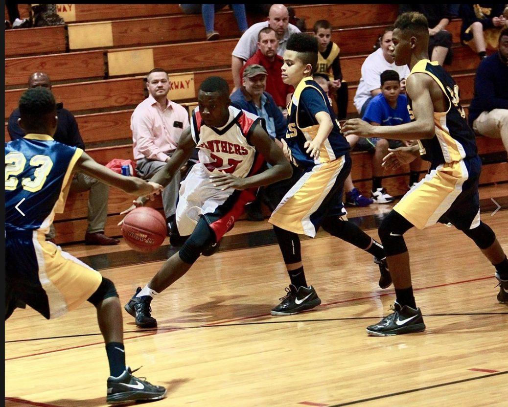 Basketens rörelser: Post up play