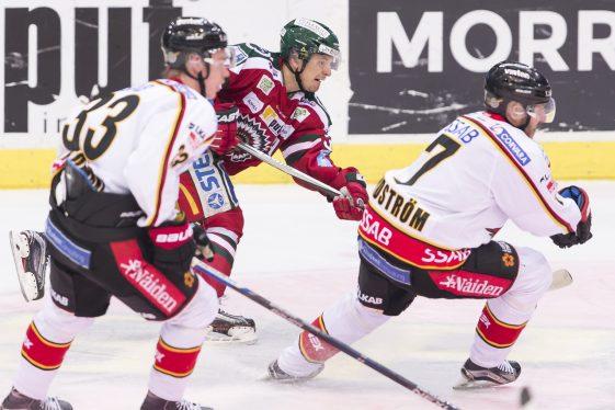 Dramatisk kvartsfinal mellan Färjestad och HV 71 gick till övertid